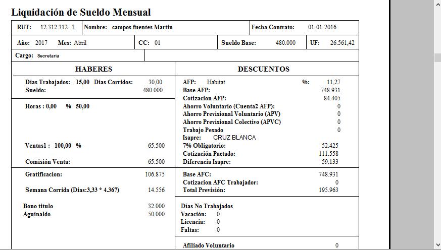 software remuneraciones online de rjc